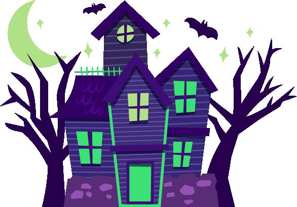 Halloween - Elements messages sticker-5