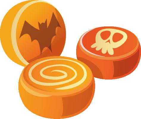 Halloween - Elements messages sticker-0