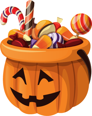 Halloween - Elements messages sticker-4