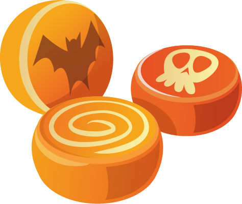Halloween - Elements messages sticker-0