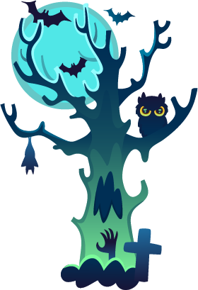 Halloween - Elements messages sticker-8
