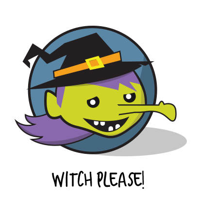 In Good Pun Halloween messages sticker-3