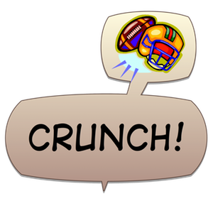 Swish! Sports Sounds Comic Bubbles messages sticker-7
