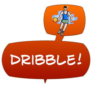 Swish! Sports Sounds Comic Bubbles messages sticker-1