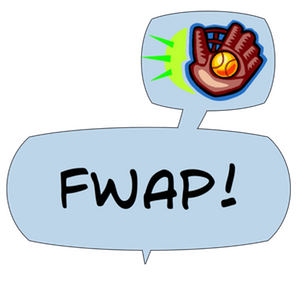 Swish! Sports Sounds Comic Bubbles messages sticker-11