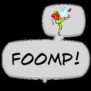 Swish! Sports Sounds Comic Bubbles messages sticker-8