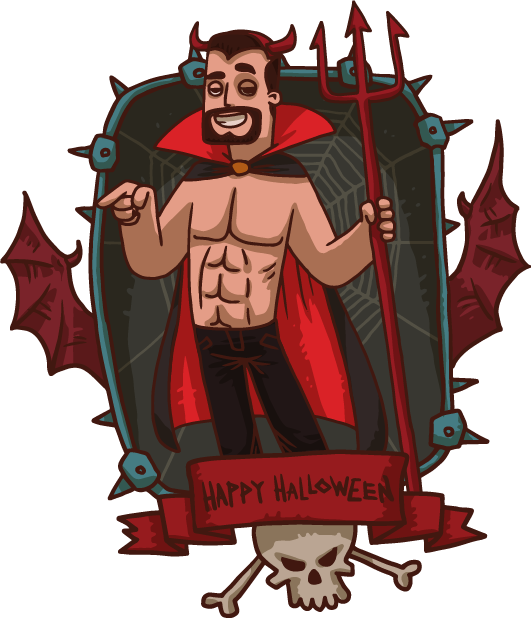 Halloween Pack 4 - Stickers for iMessage messages sticker-8