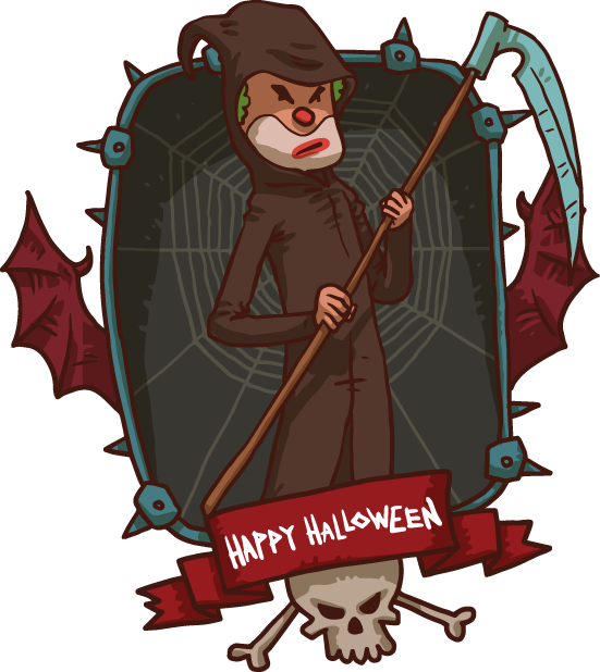 Halloween Pack 4 - Stickers for iMessage messages sticker-0