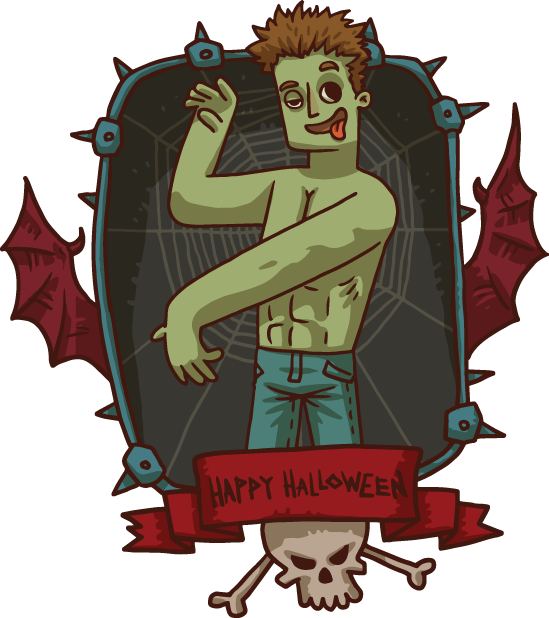 Halloween Pack 4 - Stickers for iMessage messages sticker-10