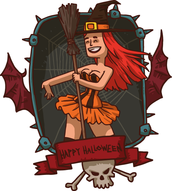 Halloween Pack 4 - Stickers for iMessage messages sticker-11