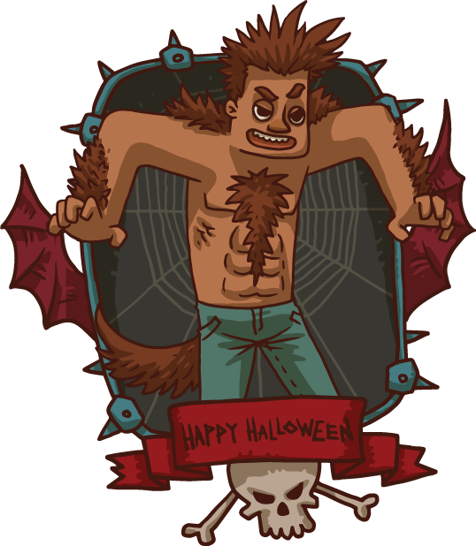 Halloween Pack 4 - Stickers for iMessage messages sticker-6