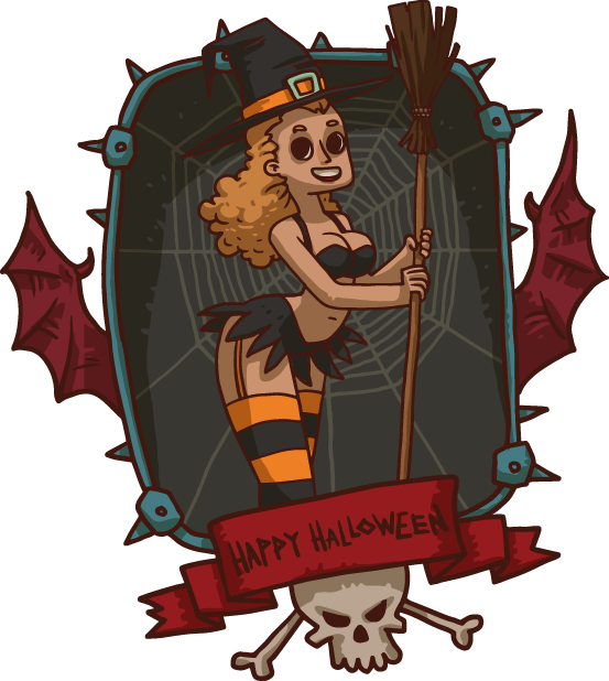 Halloween Pack 4 - Stickers for iMessage messages sticker-3