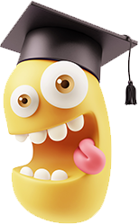 3D Back To School Smileys messages sticker-7