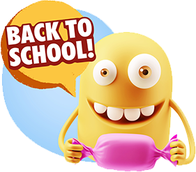 3D Back To School Smileys messages sticker-5