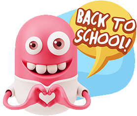 3D Back To School Smileys messages sticker-9