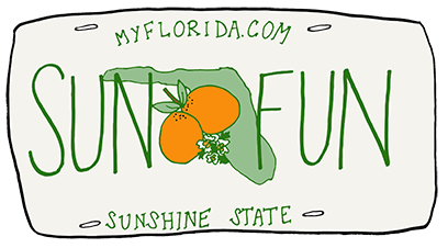 Florida Doodles messages sticker-2