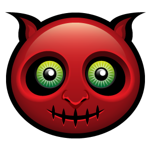 Halloween Face Emoji - Sticker messages sticker-4