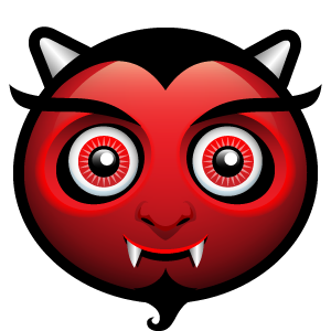 Halloween Face Emoji - Sticker messages sticker-3