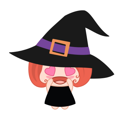 Wikie - The Little Witch messages sticker-4