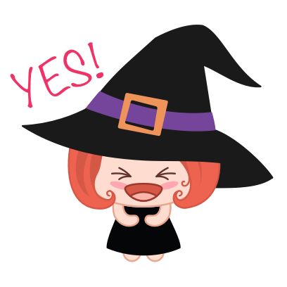 Wikie - The Little Witch messages sticker-5