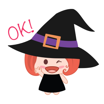 Wikie - The Little Witch messages sticker-7