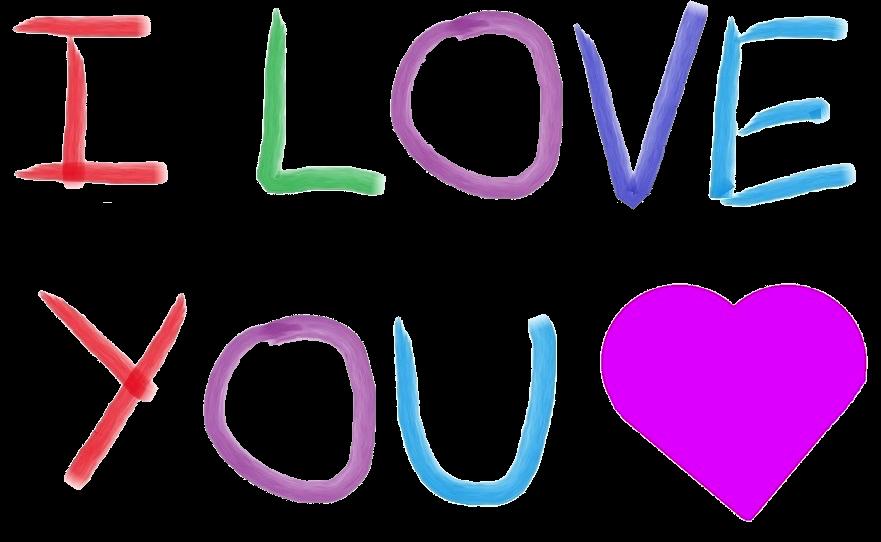 I Love U messages sticker-0