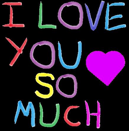 I Love U messages sticker-2