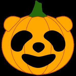 Panda in Halloween - cute sticker messages sticker-4