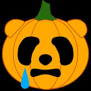 Panda in Halloween - cute sticker messages sticker-5