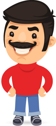 Cartoon people - Stickers for iMessage messages sticker-1
