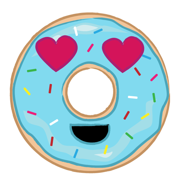 Donut Indulgence Stickers messages sticker-7