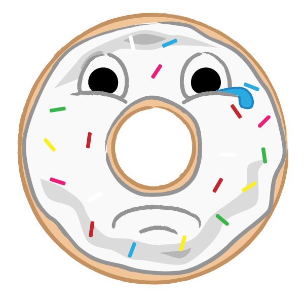 Donut Indulgence Stickers messages sticker-3