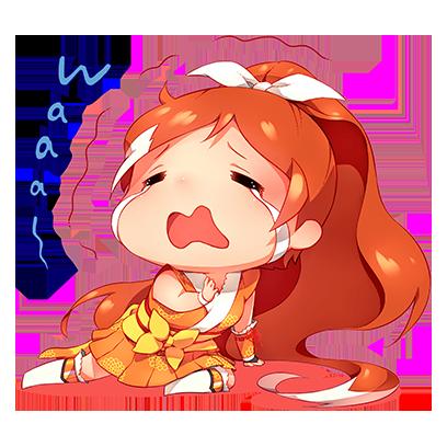 Official Crunchyroll-Hime Sticker Pack messages sticker-5