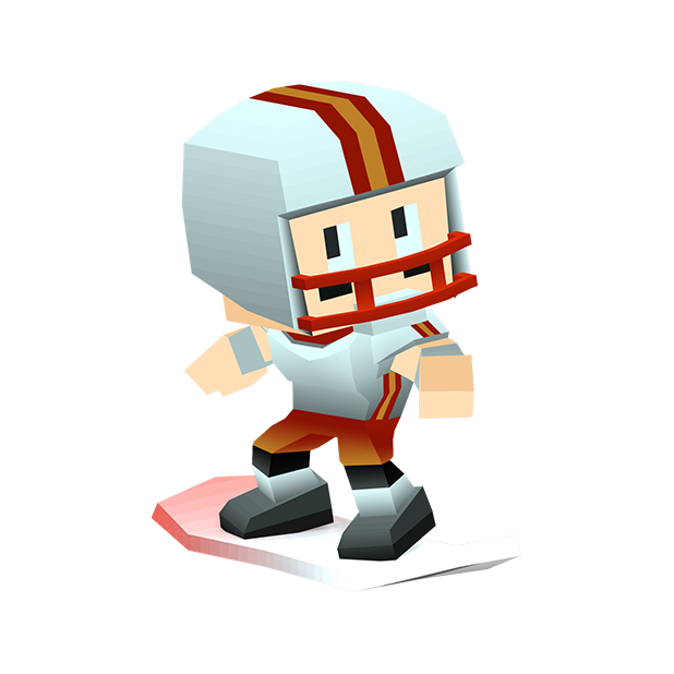 Blocky Snowboarding - Endless Arcade Runner messages sticker-1