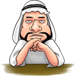 Handsome Uncle From Middle East stickers messages sticker-8