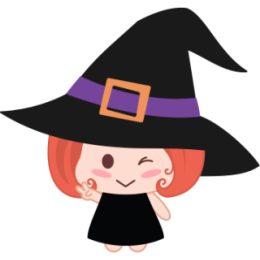 Wikie The Witch stickers by Linh for iMessage messages sticker-11