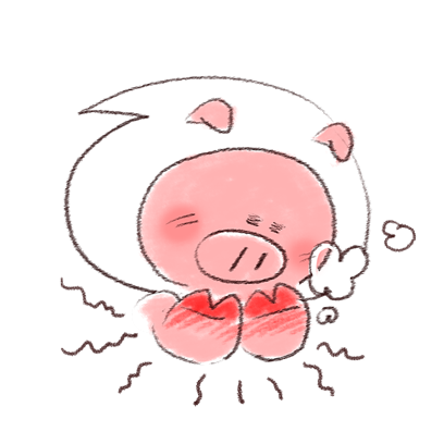 Super busy piggy messages sticker-3