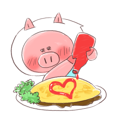 Super busy piggy messages sticker-8