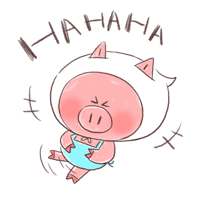 Super busy piggy messages sticker-9