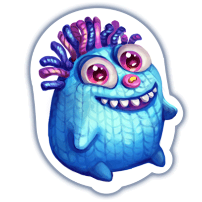 Fancy Blast messages sticker-11
