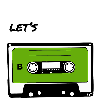 Funny Cassette - Stickers for iMessage messages sticker-1