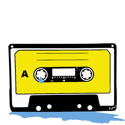 Funny Cassette - Stickers for iMessage messages sticker-2
