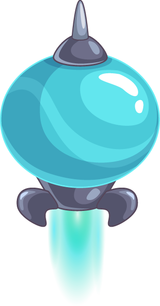 Alien planets - Stickers for iMessage messages sticker-8
