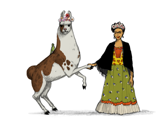 Llama Diplomat - Animated llama stickers messages sticker-5