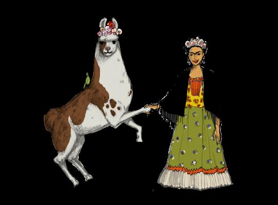 Llama Diplomat - Animated llama stickers messages sticker-5