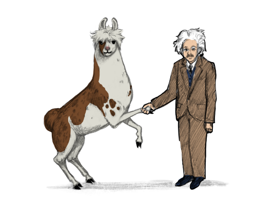 Llama Diplomat - Animated llama stickers messages sticker-4