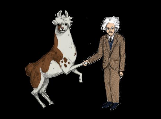 Llama Diplomat - Animated llama stickers messages sticker-4