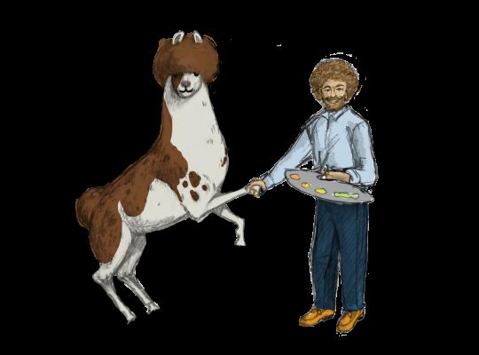 Llama Diplomat - Animated llama stickers messages sticker-2
