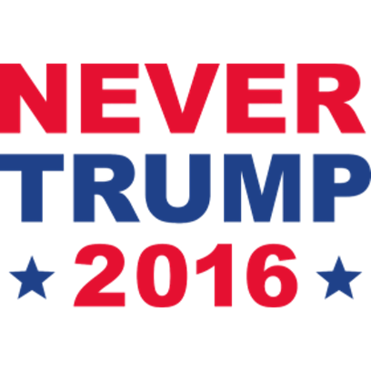 Never Donald Trump for President 2016 Stickers messages sticker-6