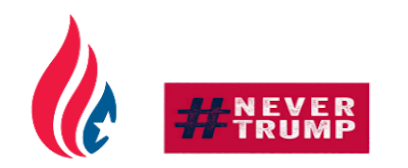 Never Donald Trump for President 2016 Stickers messages sticker-10